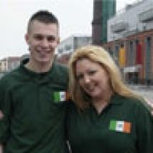 WCOPA-Shoot-Team-Ireland-2009-APRIL--FEATURING--KERRY--REPRESENTATIVE-Darragh-Kelliher-with-the-WCOPA-Team-Ireland-National-Director-Maureen-V-Ward-sml