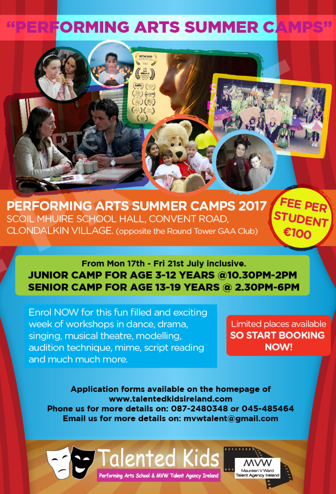 TALENTED KIDS PERFORMING ARTS SUMMER CAMP